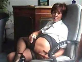 Amateur Homemade Mature Mom Stockings