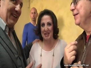Gangbang Mature Older Wife