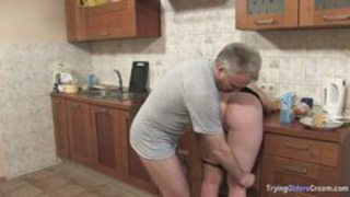 Ass Doggystyle Kitchen Wife