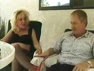 Blonde Older Stockings Wife
