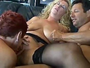 Licking Natural  Threesome