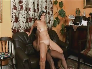 Glasses Hardcore Interracial Riding Teacher