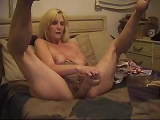 Amateur Blonde Dildo Homemade Masturbating  Solo Toy