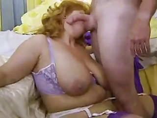 Big Cock Big Tits Blowjob Lingerie Natural