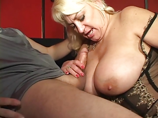 Big Tits Blonde Lingerie Mom Natural Old And Young