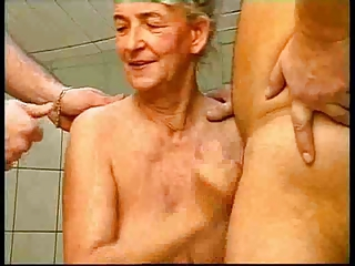 Older Threesome Wife
