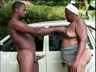 Big Cock Ebony Mom Old And Young Outdoor