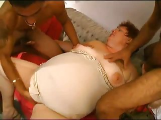 Mom Old And Young  Threesome