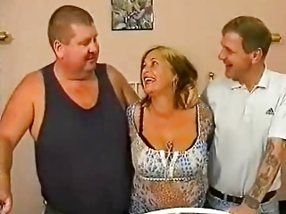 British European Threesome