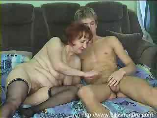 Hairy Mom Old And Young Redhead Russian Stockings