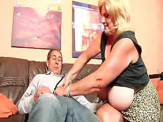 Big Tits Blonde Chubby Handjob Natural Older