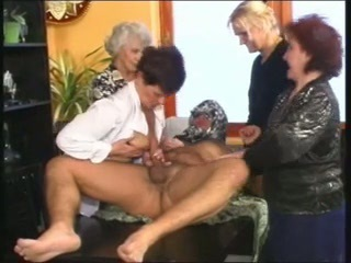 European German Groupsex Handjob