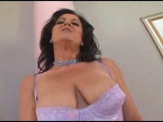Big Tits Brunette Lingerie Natural