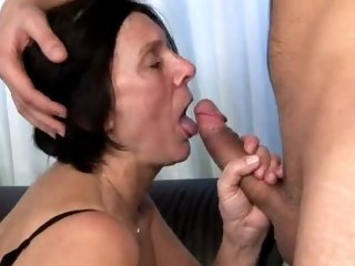 Big Cock Blowjob Brunette Mom Old And Young
