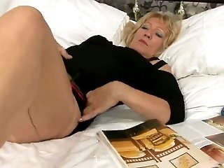 Masturbating Solo Stockings