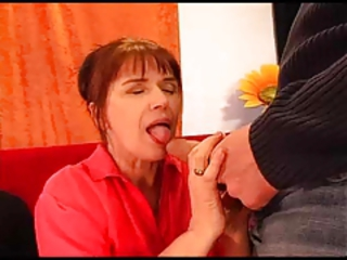 Blowjob European German Old And Young Wife