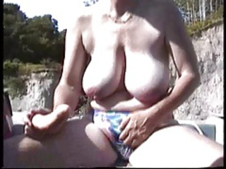 Amateur Big Tits British European Masturbating Natural Outdoor  Toy