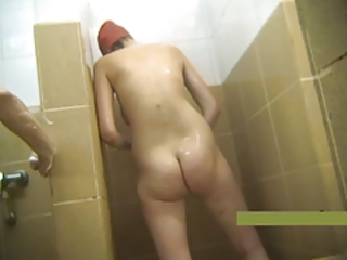 HiddenCam Mature Showers Voyeur