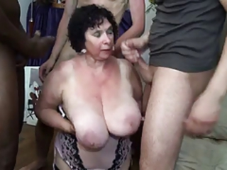 Amateur  Big Tits Cumshot Gangbang Interracial Natural Old And Young