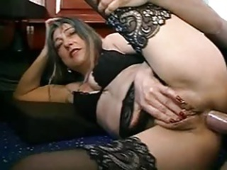 Anal European French Hardcore Lingerie Stockings