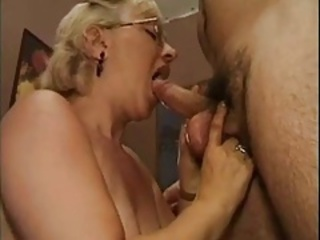 Blowjob European Glasses Italian Teacher
