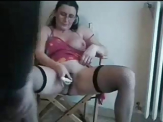 Amateur European Homemade Italian Masturbating Stockings Toy Wife