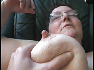 Amateur Big Tits Glasses Homemade Natural Nipples