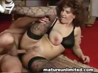 Big Tits Hardcore Mature Natural  Stockings