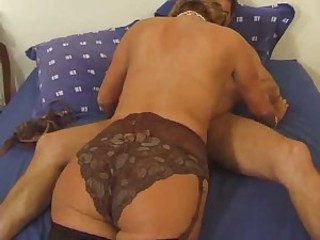 Ass Blowjob European French Lingerie Mature Mom Old And Young Panty
