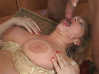 Big Tits Cumshot Mature Natural Swallow