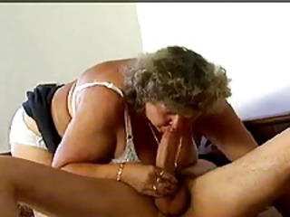 Blowjob Lingerie Mom Old And Young