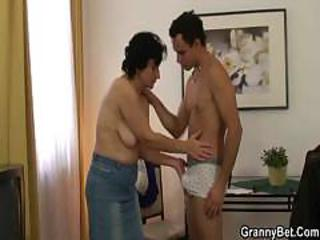Brunette European Mom Old And Young