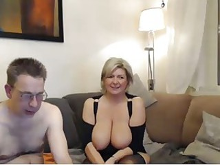 Big Tits Mature Natural Older  Webcam Wife