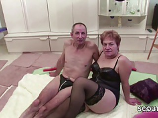 European German Lingerie Older Stockings Wife