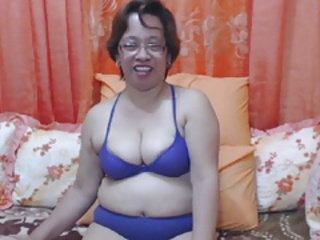 Asian Glasses Lingerie Solo Webcam