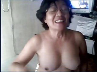 Asian Glasses Webcam