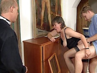 Clothed Doggystyle Hardcore Mature Mom Old And Young  Stockings Vintage