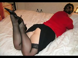 Amateur Ass Homemade Legs Stockings Wife