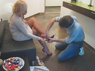 Feet Fetish Legs Mature Mom Old And Young