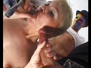 Blowjob European French Gangbang Mom Old And Young