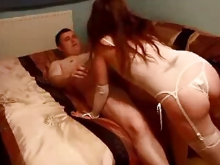 Amateur Blowjob Homemade Lingerie Mature