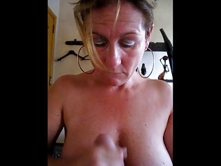 Amateur Handjob Homemade Mature Wife