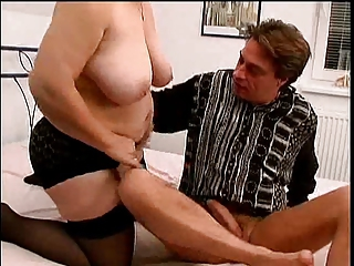 Big Tits Chubby Mom Natural Old And Young  Stockings