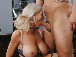 Big Tits Blowjob Mature Natural Office Old And Young Pornstar Secretary