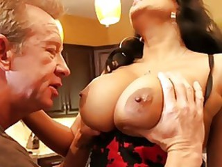 Big Tits Natural Nipples Older Pornstar