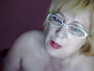 Glasses Mom Solo Webcam