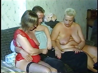 Big Tits Natural Old And Young Pornstar  Threesome