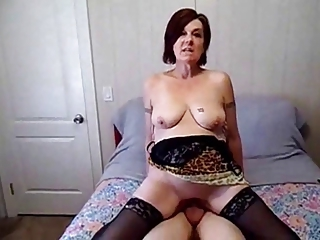 Amateur Homemade Mature Riding  Stockings Tattoo