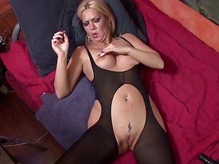 European German Mature Mom Pantyhose Piercing Shaved Tattoo