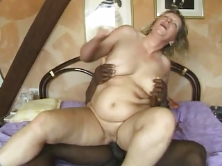 Chubby European German Hardcore Interracial Riding